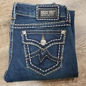 Miss Me Irene Boot cut Jeans size 27